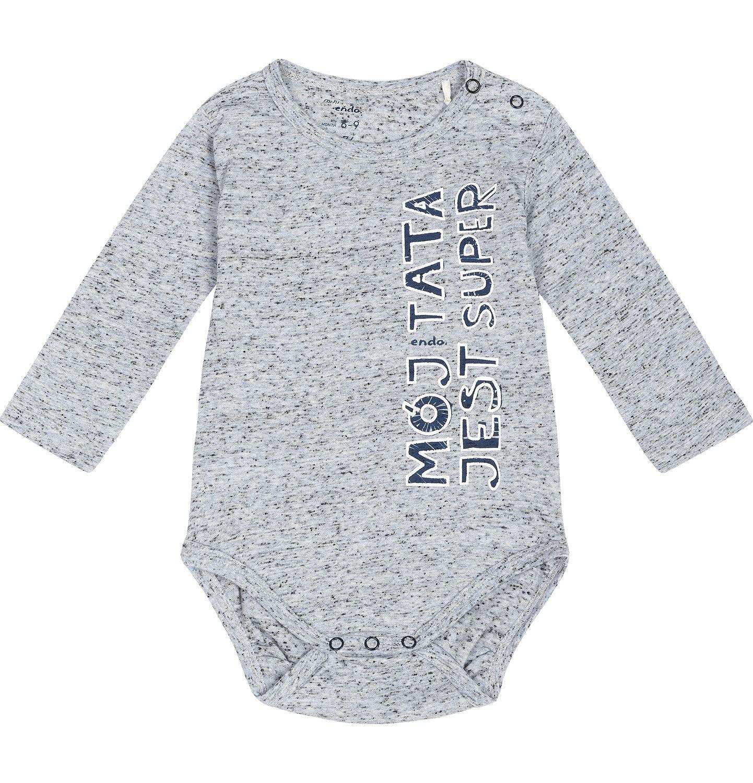 """Endo - """"Mój tata jest super"""" Body dla niemowlaka 3-24 m-ce N82M043_1"""