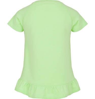 Endo - Bluzka z krótkim rękawem dla dziewczynki 9-13 lat D91G605_1