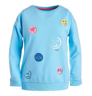 Endo - Bluza z nadrukiem dla dziewczynki 3-8 lat D81C022_1
