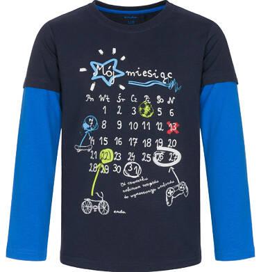 Endo - T-shirt z długim rękawem dla chłopca 3-8 lat C92G011_1