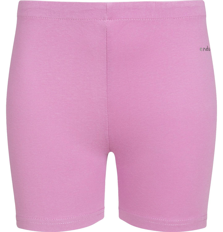 Endo - Krótkie legginsy dla dziewczynki, różowe, 9-13 lat D03K507_3