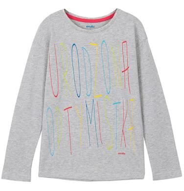 Endo - Bluzka z długim rękawem dla dziewczynki D52G160_1