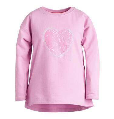 Endo - Bluza z wydłużonym tyłem dla dziewczynki 3-8 lat D81C023_1