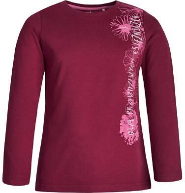 """Endo - """"Dla prawdziwych księżniczek"""" T-shirt z długim rękawem dla dziewczynki 9-13 lat D82G604_1"""