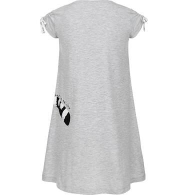 Endo - Sukienka z krótkim rękawem dla dziewczynki 9-13 lat D91H533_1