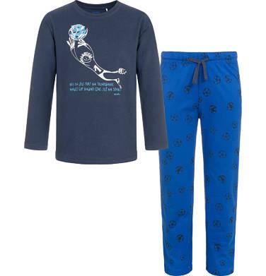 Endo - Piżama z długim rękawem dla chłopca 9-13 lat C92V505_1