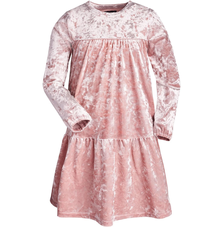 Endo - Sukienka z długim rękawem dla dziewczynki 9-13 lat D82H535_1