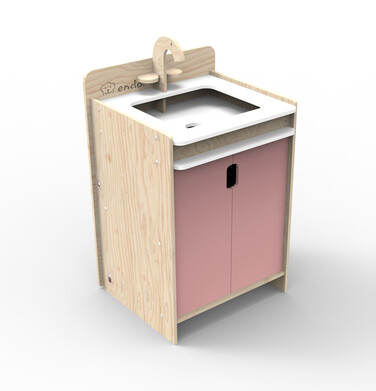 Endo - Drewniany zlewozmywak dla dziecka SMM030_1 20
