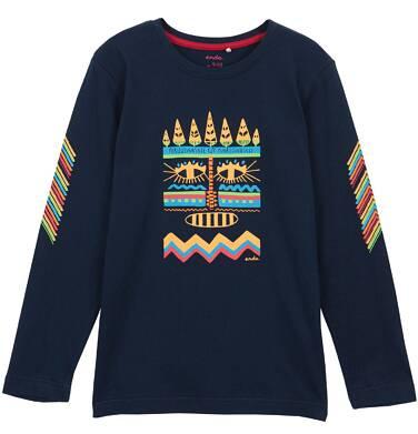 Endo - T-shirt z długim rękawem dla chłopca 3-8 lat C62G057_1
