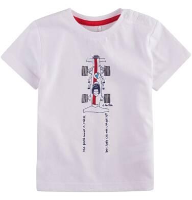 Endo - Koszulka z krótkim rękawem dla dziecka 6-36 m-cy N71G093_1