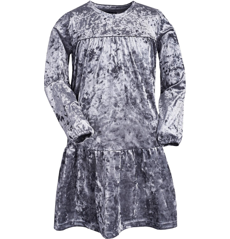 Endo - Sukienka z długim rękawem dla dziewczynki 9-13 lat D82H535_2