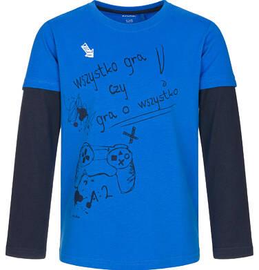 Endo - T-shirt z długim rękawem dla chłopca 9-13 lat C92G512_1