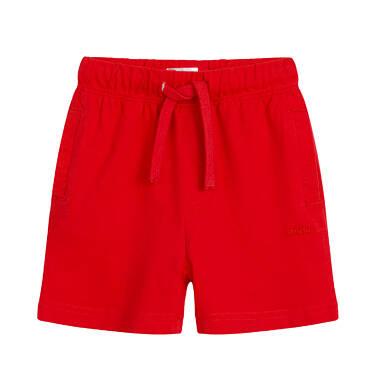 Endo - Krótkie spodenki dla dziecka do 2 lat, czerwone N03K007_1 28