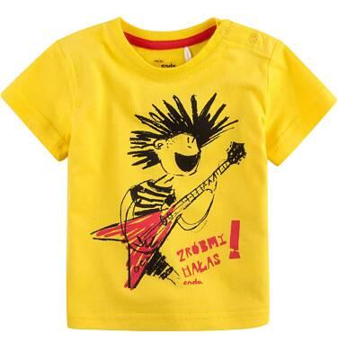 Endo - Bluzka z krótkim rękawem dla dziecka 0-3 lata N71G102_1