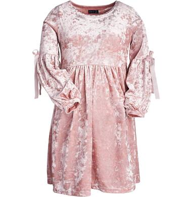 Endo - Sukienka z długim rękawem dla dziewczynki 9-13 lat D82H536_1