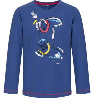 Endo - T-shirt z długim rękawem dla chłopca 9-13 lat C92G513_1