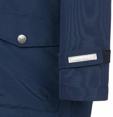 Endo - Przejściowa kurtka parka dla chłopca, z odblaskami, granatowa, 9-13 lat C03A501_1,6