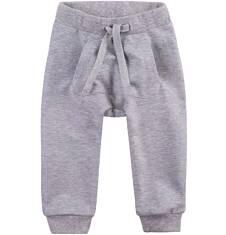 Spodnie dresowe z obniżonym krokiem dla dziecka 0-3 lata N71K022_1
