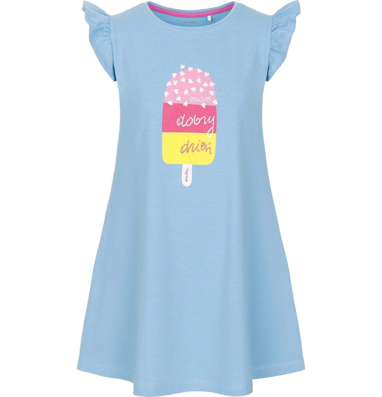 Endo - Sukienka z krótkim rękawem dla dziewczynki 3-8 lat D91H040_1