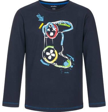 Endo - T-shirt z długim rękawem dla chłopca 9-13 lat C92G513_2