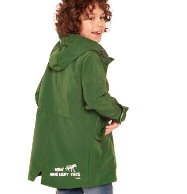 Endo - Wiosenna kurtka parka dla chłopca, z odblaskami, zielona, 2-8 lat C03A001_2