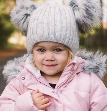Endo - Długa kurtka zimowa z kapturem dla dziewczynki, różowa, 2-8 lat D04A022_1,3