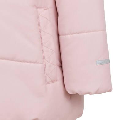 Endo - Długa kurtka zimowa z kapturem dla dziewczynki, różowa, 2-8 lat D04A022_1,9
