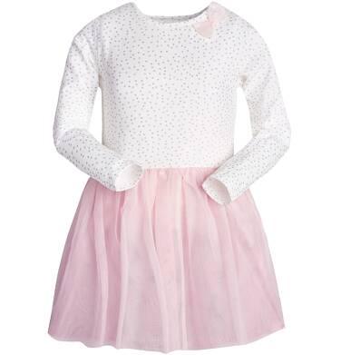 Endo - Sukienka z długim rękawem dla dziewczynki 9-13 lat D82H540_2