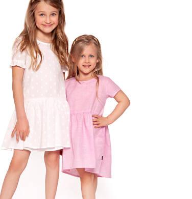Endo - Sukienka z krótkim rękawem dla dziewczynki 3-8 lat D91H055_1