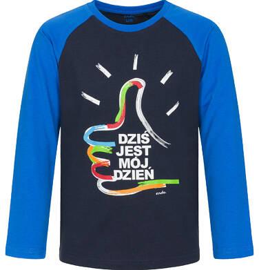 Endo - T-shirt z długim rękawem dla chłopca 3-8 lat C92G014_1