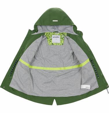 Endo - Wiosenna kurtka parka dla chłopca, z odblaskami, zielona, 9-13 lat C03A501_2