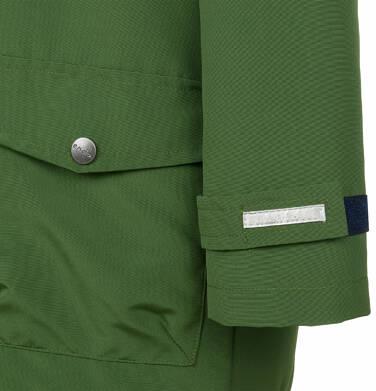 Endo - Przejściowa kurtka parka dla chłopca, z odblaskami, zielona, 9-13 lat C03A501_2,7