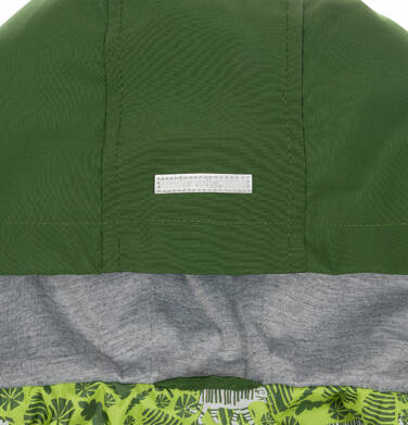 Endo - Przejściowa kurtka parka dla chłopca, z odblaskami, zielona, 9-13 lat C03A501_2,6