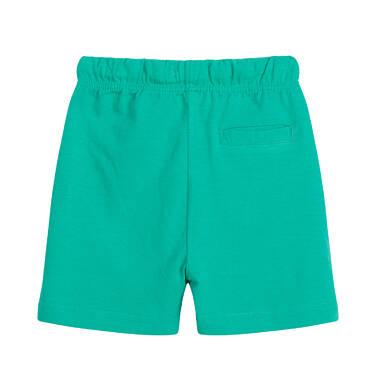 Endo - Krótkie spodenki dla dziecka do 2 lat, zielone N03K007_4