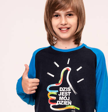 Endo - T-shirt z długim rękawem dla chłopca 9-13 lat C92G514_1