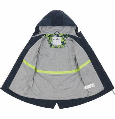 Endo - Przejściowa kurtka parka dla chłopca, z kontrastowym suwakiem, garantowa, 2-8 lat C03A004_1 22