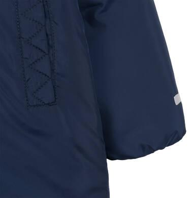 Endo - Długa kurtka zimowa z kapturem dla dziecka do 3 lat, granatowa N04A032_1,5