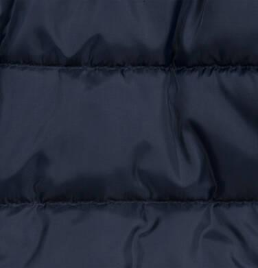 Endo - Długa kurtka zimowa z kapturem dla dziecka do 3 lat, granatowa N04A032_1,7