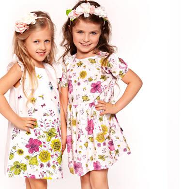 Endo - Sukienka z krótkim rękawem dla dziewczynki 2-8 lat D91H060_1