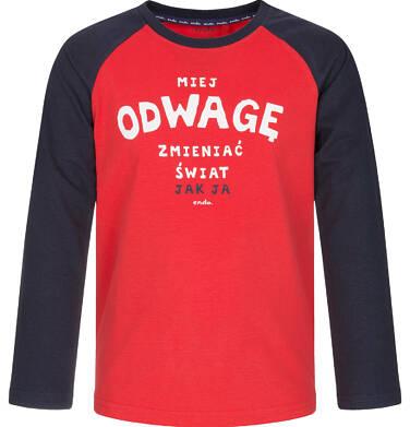 Endo - T-shirt z długim rękawem dla chłopca 3-8 lat C92G015_1