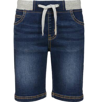 Endo - Krótkie spodenki jeansowe dla chłopca, 2-8 lat C03K032_2