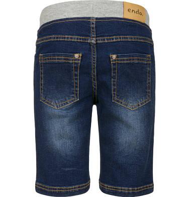 Endo - Krótkie spodenki jeansowe dla chłopca, 2-8 lat C03K032_2,2