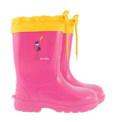 Endo - Kalosze dla dziewczynki 3-8 lat D72O007_1