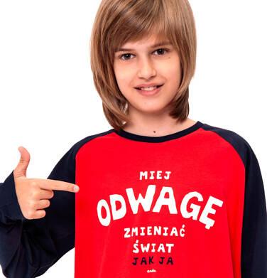 Endo - T-shirt z długim rękawem dla chłopca 9-13 lat C92G515_1