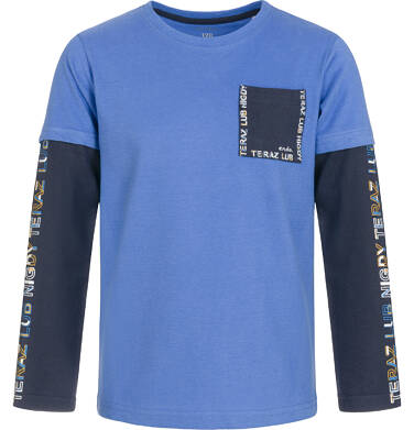 T-shirt z długim rękawem dla chłopca 9-13 lat C92G621_1
