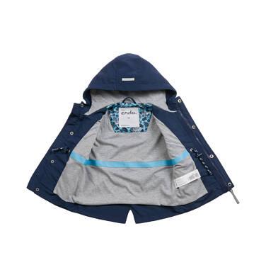 Endo - Wiosenna kurtka dla dziecka do 2 lat, z odblaskami, granatowa N03A001_1