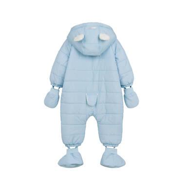 Endo - Kombinezon dla małego dziecka, z misiem, błękitny N04A001_1,3
