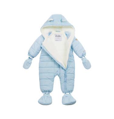 Endo - Kombinezon dla małego dziecka, z misiem, błękitny N04A001_1 10