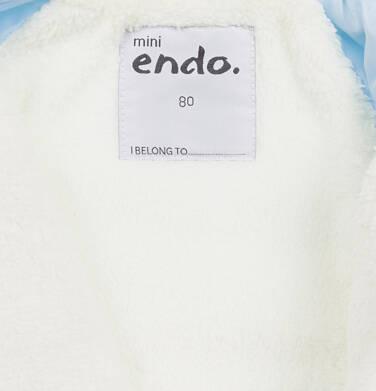 Endo - Kombinezon dla małego dziecka, z misiem, błękitny N04A001_1,6