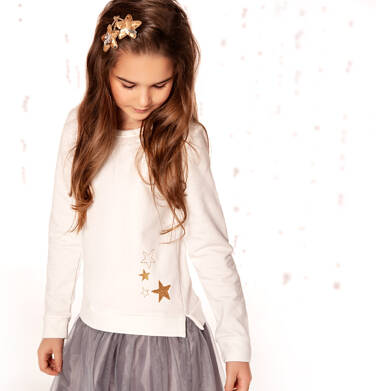 Endo - Sukienka z długim rękawem dla dziewczynki 9-13 lat D82H530_1